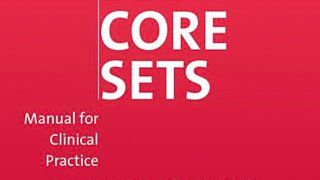 ICF Core Set Manual